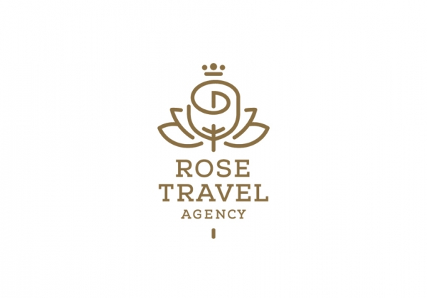 Rose Travel Agency Premium Logo Design For Sale Logostack